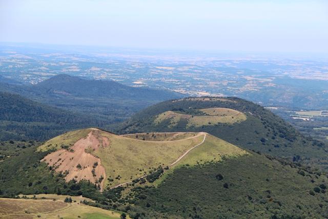 ________________ Puy Pariou et Puy de Côme